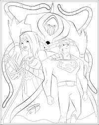 Coloring Pages - Justice League Action by RCBrock on DeviantArt