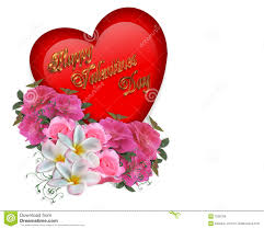 Pictures Of Hearts And Flowers Valentine Heart And Flowers Stock Illustration