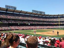 Angel Stadium Section F127 Row N Seat 9 Home Of Los