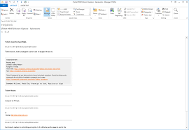 Email Ticket Template Spiceworks General Support