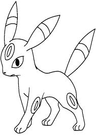 Pokemon Umbreon Disegno Da Colorare Disegni Da Colorare E Stampare