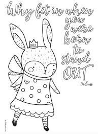 Up to 12,854 coloring pages for free download. 4 Cute Printable Inspirational Quotes Coloring Pages For Tweens Teens