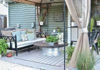 concrete slab patio makeover. Modren Makeover Concrete Slab Patio Makeover Lovely 125 Best Deck U0026 Ideas  Images On Pinterest  Throughout E