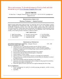 Resume Examples For Pharmacy Technician Best Resumes
