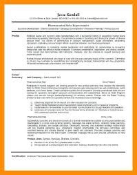 Pharmaceutical Sales Resume Example Sample Entry Level Sales Resume ...