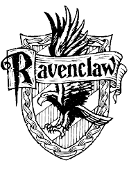 Harry Potter Ravenclaw Crest Coloring Page Harry Potter Harry