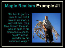 a very old man enormous wings by gabriel garcia marquez ppt  4 magic