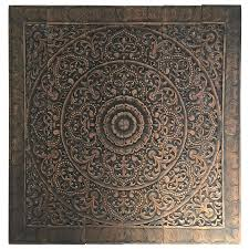 hand carved balinese oversized decorative teak wall or ceiling art panel for sale on teak wall art panels with hand carved balinese oversized decorative teak wall or ceiling art