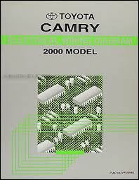 2000 toyota camry wiring diagram manual original