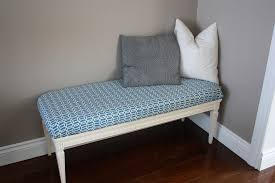 coffee table transformed into a bench