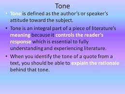 The Crucible Looking at Tone - ppt video online download