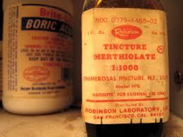 tincture merthiolate misc uses