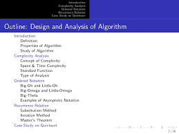 Quick Sort In Design And Analysis Of Algorithms Design And Analysis Of Algorithm