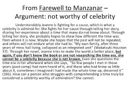 counterargument examples 3 from farewell to manzanar