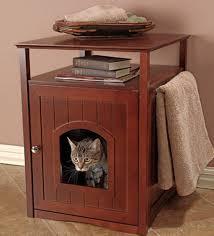 cat litter box furniture diy. Cat Box Enclosure | Hidden Litter Diy Furniture U