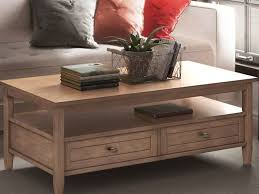 The baskets are an opportunity to further customize and update your personal style while offering plenty of room to hide away pillows, magazine or toys. The 7 Best Coffee Tables Of 2021
