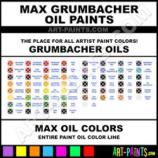 Max Grumbacher Oil Paint Colors Max Grumbacher Paint