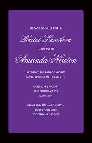 Black And Purple Invitations Purple Flat Black Border Fancy Party Invitations