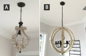 distressed wood chandelier farmhouse chandeliers entryway and living room fixtures