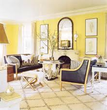 Yellow Living Room Chairs Home Design Zebrahide Carpet Popular Furniture Eclectic Gray And