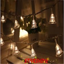 Jingle Bell Garland Aliexpresscom Buy 10m 50 Led String Lights Jingle Bell Fairy