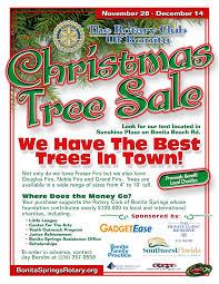 rotary christmas tree flyer the rotary club of bonita springs categories community service