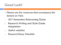 research essays research think write ppt 31 good luck