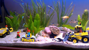 Funny Fish Tank Decorations Lego In An Aquarium Sk P Google Fish Tank Pinterest
