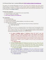 Annotated bibliography apa