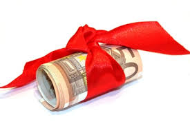 Bildergebnis für geld geschenkt