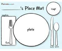 Table Setting Templates Free Placemat Templates Printable This Version From