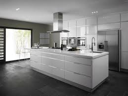 Modern White Kitchen Amazing Of Kitchen White Kitchen Theme Combined With Blac 818