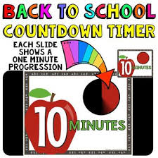 Ten Minutes Countdown Timer Countdown 10 Minutes Or Less Apple Theme For Back To