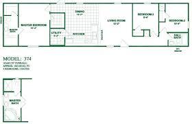 single bedroom medium size single bedroom wide mobile home oak creek floor plans for manufactured homes