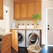 Hide In The Kitchen 27 Ideas For A Fully Loaded Laundry Room  Laundry Room Office  B