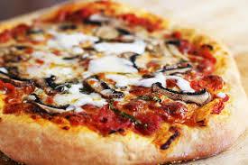 How To Cook A Pizza Homemade Pizza Recipe Simplyrecipescom