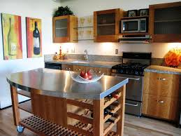 Small Picture Stainless Steel Kitchen Island for Modern Kitchen Style