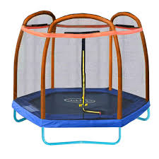 Bounce Pro 12 Trampoline With Flash Light Zone And Enclosure 10 Best And Safest Trampolines Of 2020 Guide Reivews