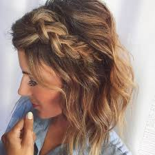 Hairstyle Ideas For Short Hair best 25 braid short hair ideas short hair braids 4390 by stevesalt.us
