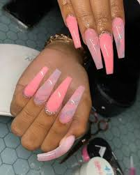 Pin by Nona morton on nails | Long acrylic nails, Best acrylic nails,  Coffin nails designs