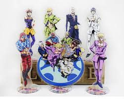 15cm 2019 <b>Japanese Anime JoJo's Bizarre</b> Adventure Golden Wind ...