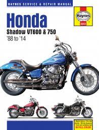 honda motorcycle vt600c shadow vlx 1988 1989 repair manuals enlarge honda vt600 vt750 shadow 88 14 haynes repair manual