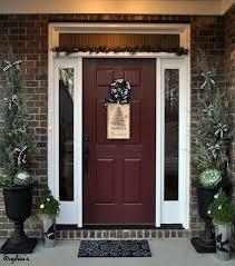 exterior door paint colorsfront door colors for brick homes  brick home front door color
