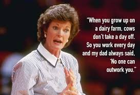Pat Summitt Quotes Inspirational Words By UT Head Coach Heavy Best Pat Summitt Quotes