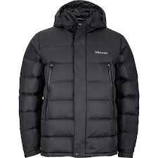marmot mountain down jacket men s black