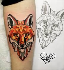 тату лисы эскизы на руку эскизы татуировок на руку Tattoohacom