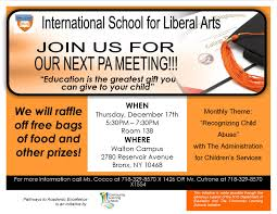 international school for liberal arts reservoir ave bronx nycja flyer 2016 2017