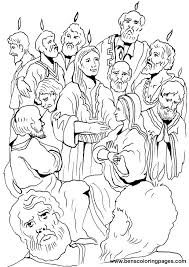 Small Picture The Pentecost coloring page