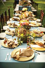 Fall wedding table settings ~ we  this! moncheribridals.com