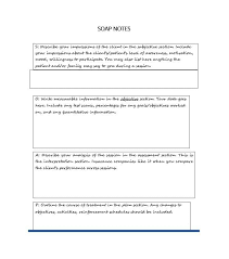 How To Write Soap Notes 40 Fantastic Soap Note Examples Templates Template Lab